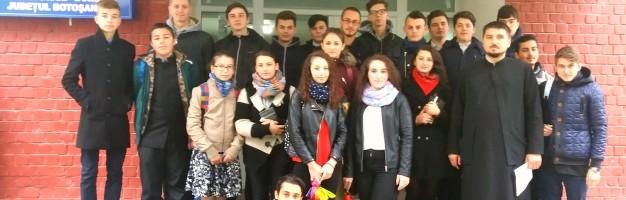 Seminariștii dorohoieni au plecat spre Sfânta Parascheva