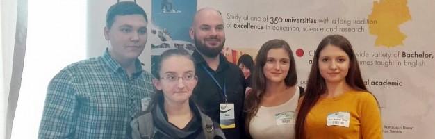 Elevi seminariști dorohoieni la Târgul internațional de Universități