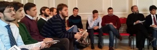 Elev seminarist – participant la Conferința internațională și workshop-urile pe tema non-violenței de la Iaşi