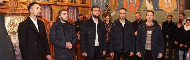 Elevi seminariști – vestitori ai Nașterii Domnului