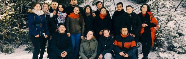 Tineri seminariști, în pelerinaj la Putna