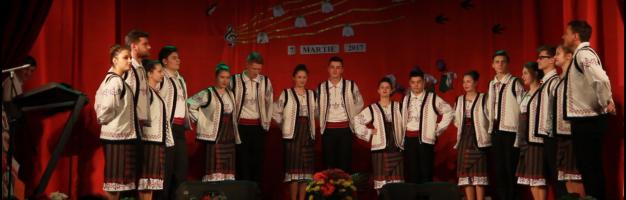 """Seminarul dorohoian prezent la spectacolul """"Armonii de primăvară"""""""