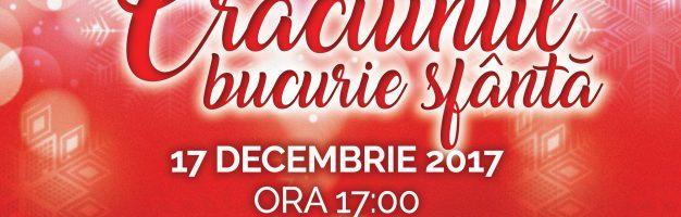 """Seminarul Dorohoi vă invită la Concertul de colinde """"Crăciunul – Bucurie sfântă"""""""
