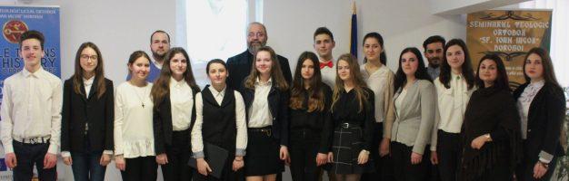 Grigore Vieru – omul și poetul la Seminarul Teologic Dorohoi