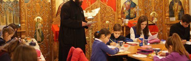 Atelier de pictat icoane la Seminarul Teologic Dorohoi