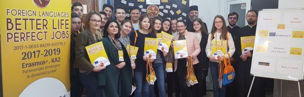 Seminarul din Dorohoi se pregătește pentru mobilitate Erasmus+
