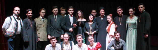 """Festivalul Național """"Creangă… la el acasă"""" – un nou succes pentru elevii Seminarului din Dorohoi"""